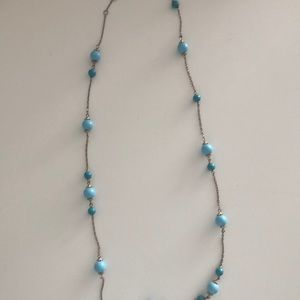 Banana Republic long beaded necklace